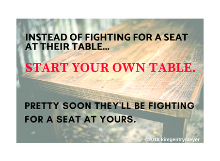 Start your own table!