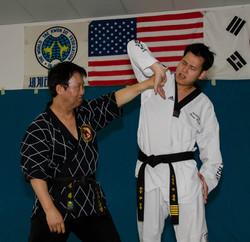 GM Park & his son, Master Hoon Park