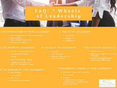 What is Energetic Intelligence? An Intro to EnQ and the 7 Wheels of Leadership