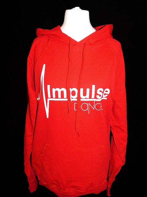 Impulse Red Hoodie