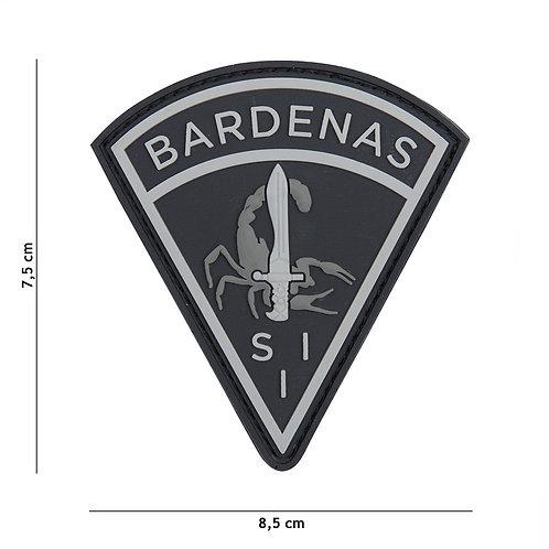 Patch 3D PVC Bardenas noir -101 inc