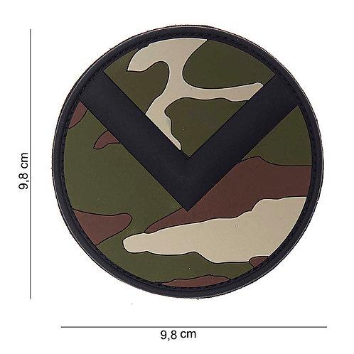 """Patch 3D PVC """" Spartaan shield wdl """" - 101 Inc"""