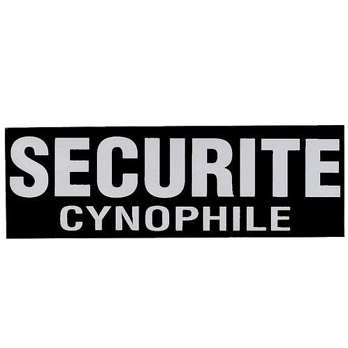 Bandeau SECURITE CYNOPHILE inversé