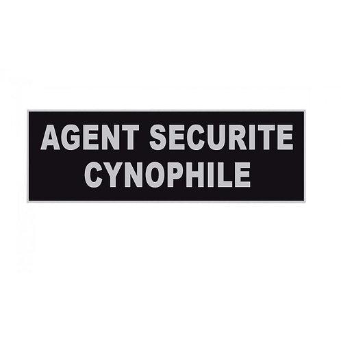 Bandeau AGENT SECURITE CYNOPHILE inversé