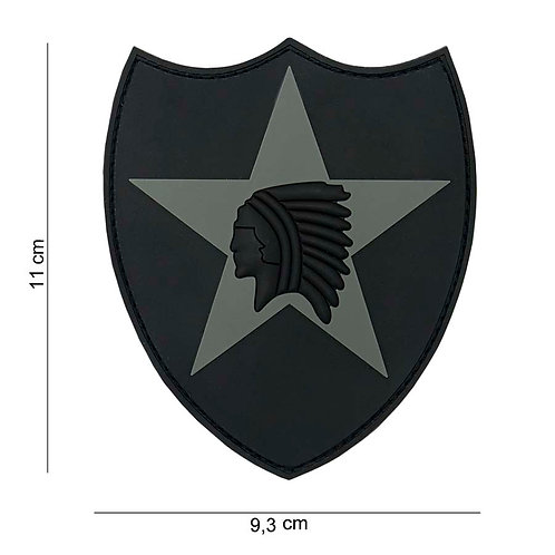 "Patch 3D PVC "" 2nd Infantry "" - 101 Inc"