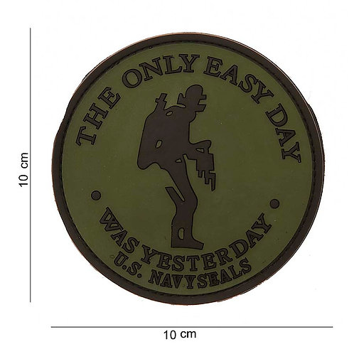 "Patch 3D PVC "" the only easy day "" - 101Inc"