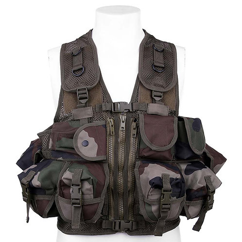 Gilet tactique, Ranger LQ14164,camo Français - 101 Inc