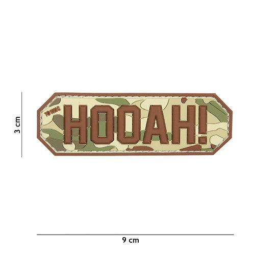 Patch 3D PVC HOOAH! multi -101 Inc