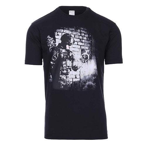 T-shirt 101 INC soldier skull - 101 Inc