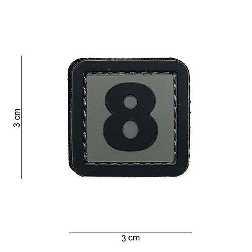 """Patch 3D PVC """" 8 """" - 101 Inc"""