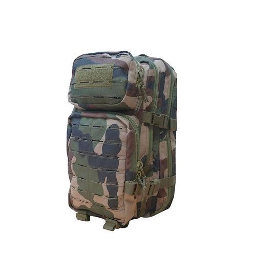Sac à dos Assault Pack Système Molle Découpe Laser 22L Camo CE - Patrol Equipeme