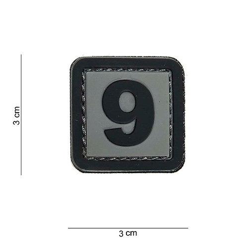 """Patch 3D PVC """" 9 """" - 101 Inc"""