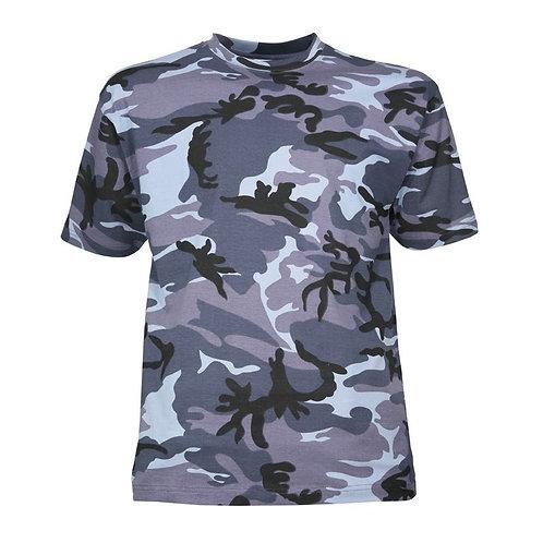 Tee-Shirt Urbain Bleu - CityGuard