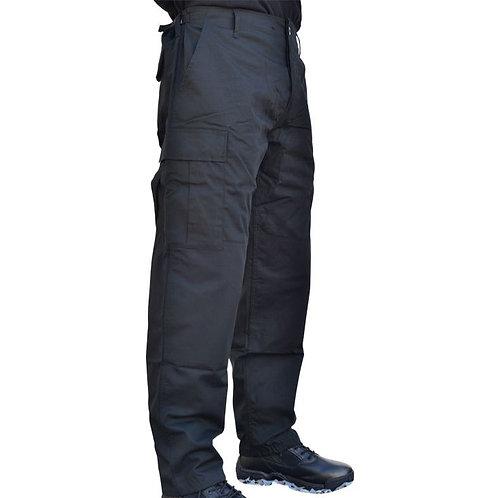Pantalon BDU Ripstop Noir - Miltec