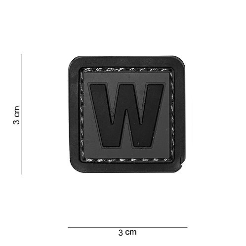 Patch 3D PVC : W - 101 Inc