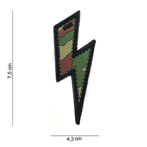 """Patch 3D PVC """" Eclair """" woodland - 101 Inc"""