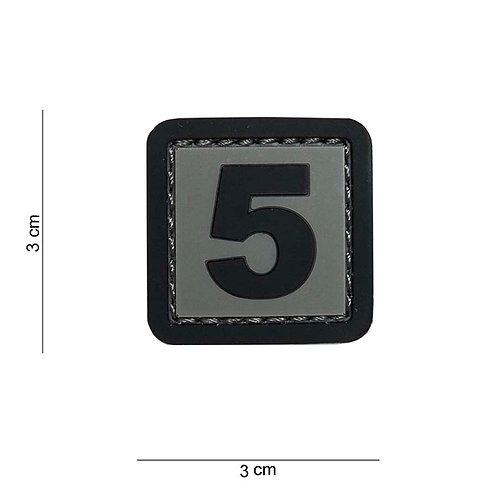 """Patch 3D PVC """" 5 """" - 101 Inc"""