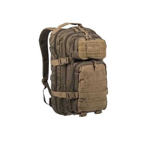 Sac à dos US Assault 20L vert/coyote - Miltec
