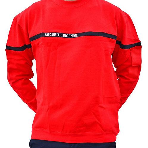 Sweat Shirt Sécurité Incendie - DMB