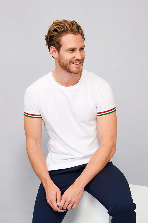 TEE-SHIRT HOMME MANCHES COURTES-Solo