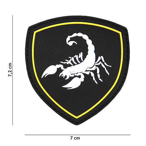 Patch 3D PVC Russian Scorpion noir -101 Inc