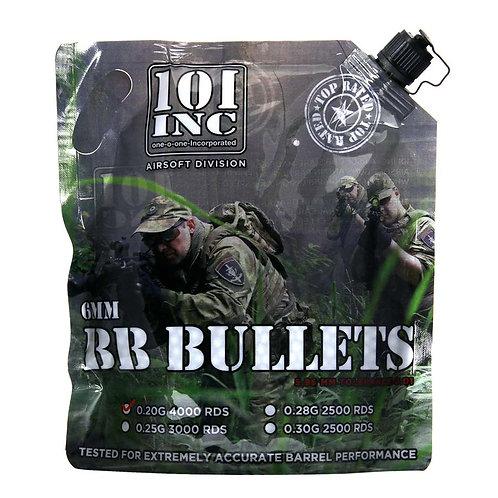 Sac de 4000 billes Airsoft extreme 0.20g. 6mm bag