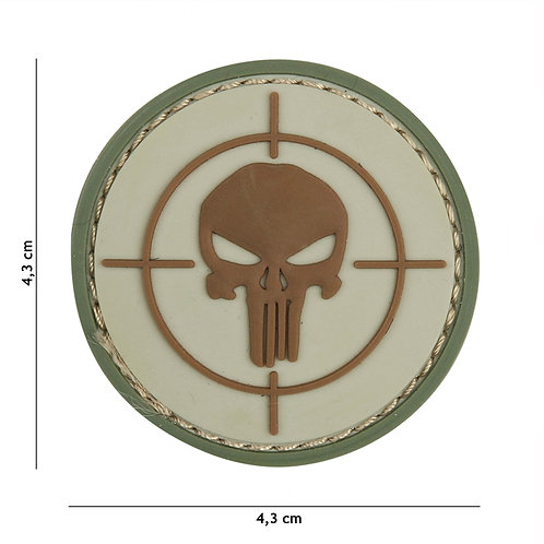 Patch 3D PVC Punisher sight coyote-101 Inc