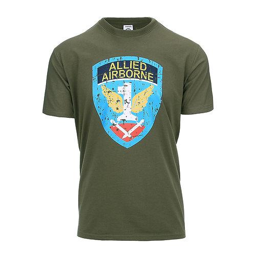 T-shirt :Allied Airborne - 101 Inc