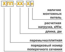 Перемычка ПБ расшифровка
