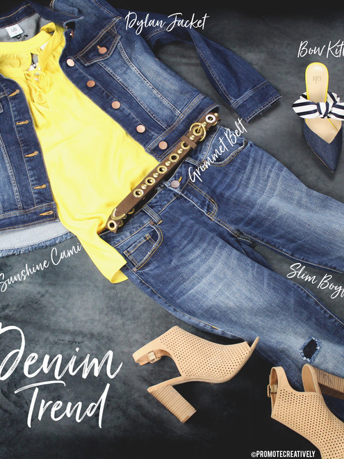 The Denim comeback!