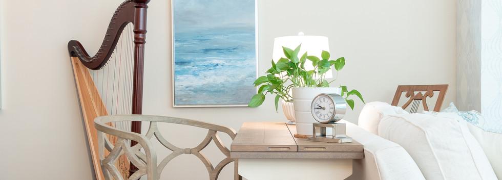 Coastal Casual - Writing Desk and Harp