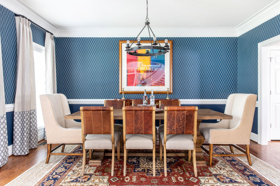 Abstract Abode - Dining Room Full View