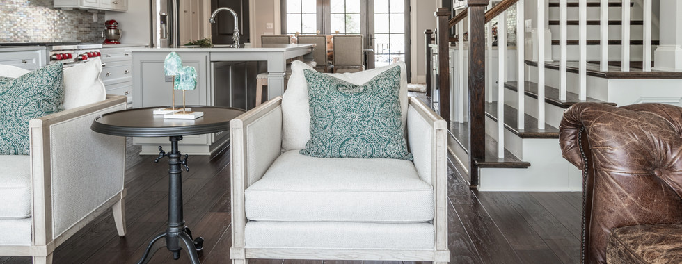 Sophisticated Town Home Living Room Arm Chair