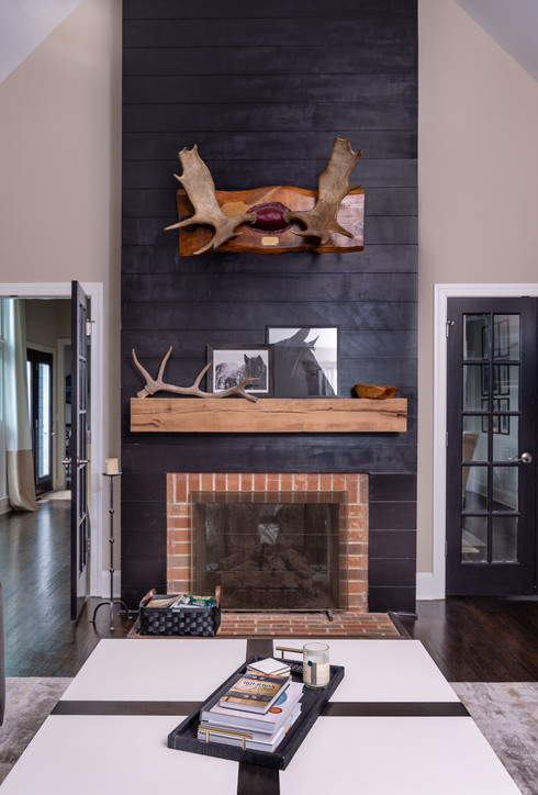 Fun & Family Game Room - Mantel