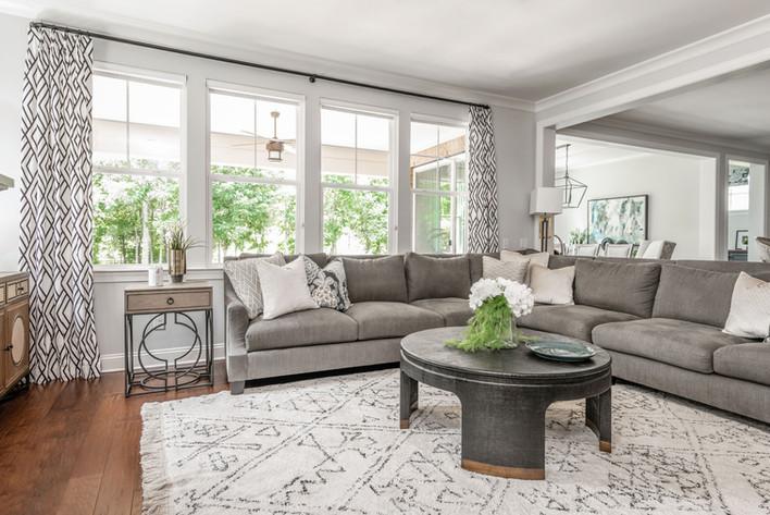 Light & Shadow - Living Room Sofa