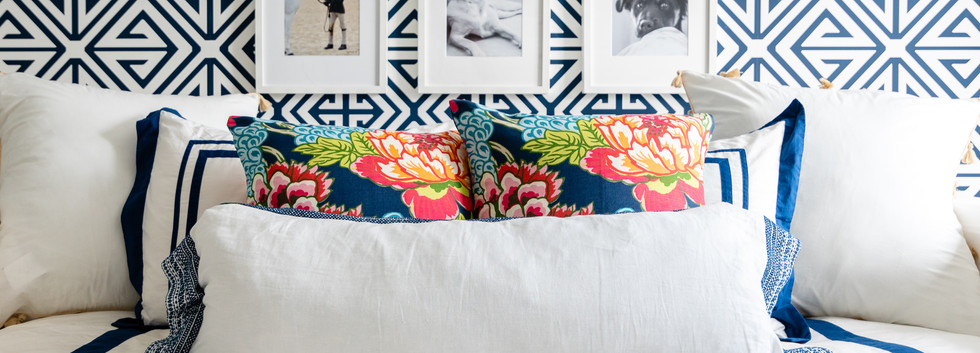 Pretty Prep & Pop Bedroom - Daybed & Gallery Wall View 2