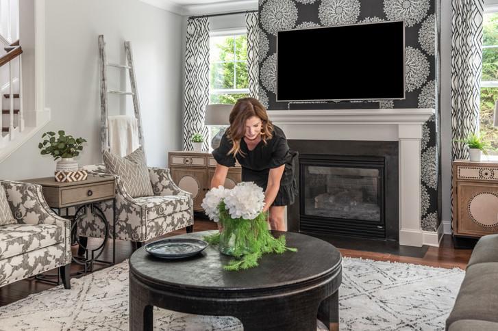 Light & Shadow - Living Room Coffee Table Arrangement