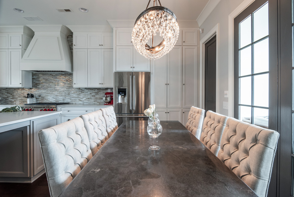 Sophisticated Town Home Dining Room Table