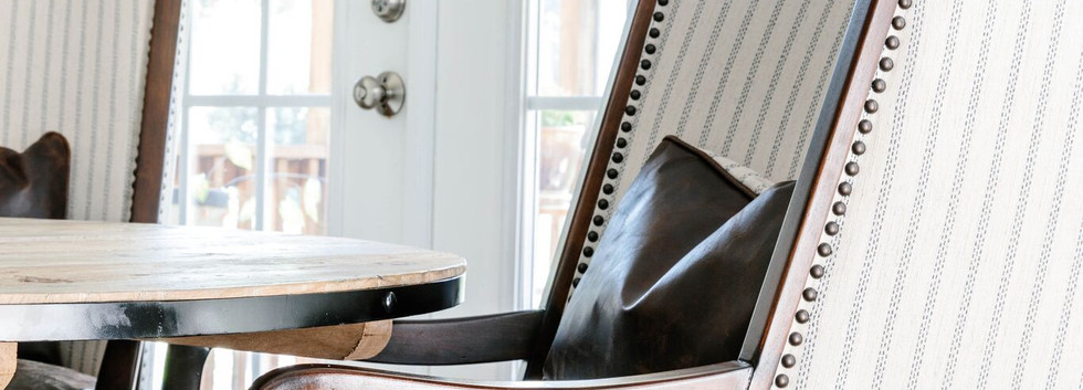 Abstract Abode - Armchair in Nook
