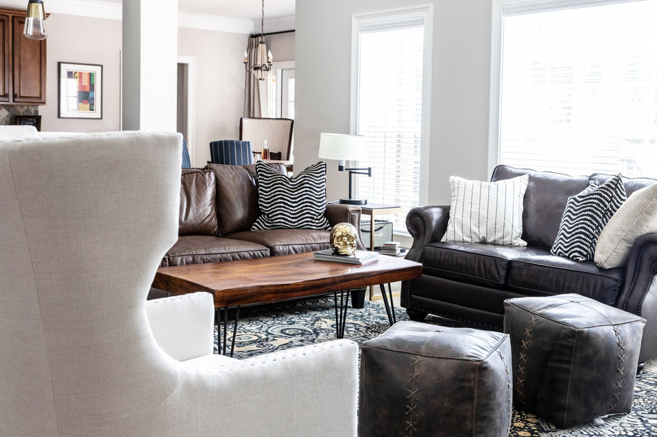 Abstract Abode - Living room