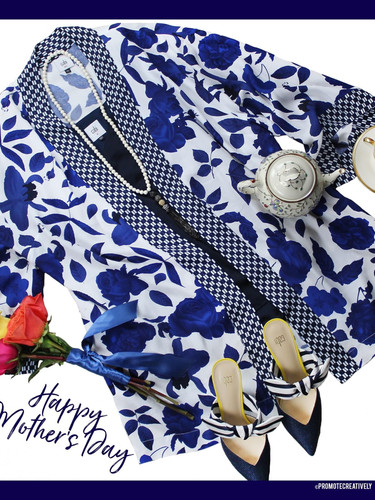 Celebrate Mother's Everywhere with a Classic Romantic Look.