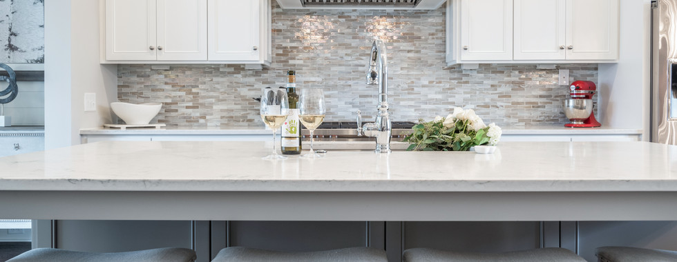 Sophisticated Town Home Kitchen Island direct