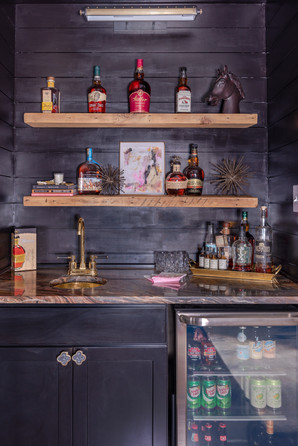 Fun & Family Game Room - Bourbon Wall