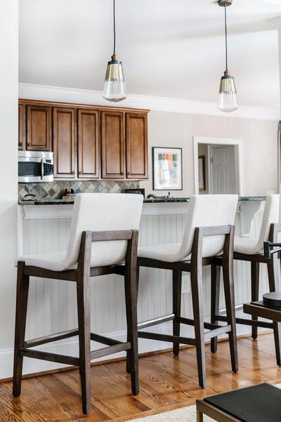 Abstract Abode - Kitchen Island Barstools