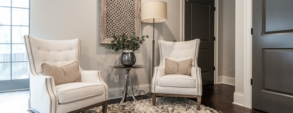 Sophisticated Town Home Nook