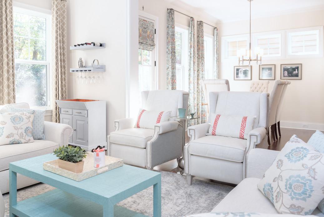 Coastal Casual - Living room