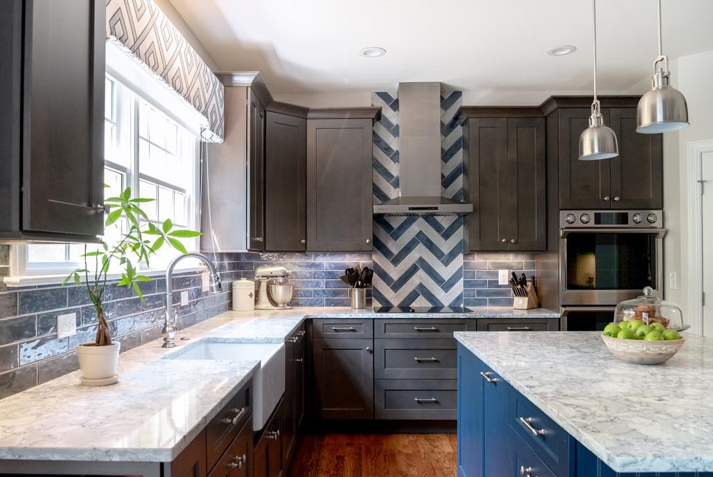 Colorful Kitchen - Full View Kitchen