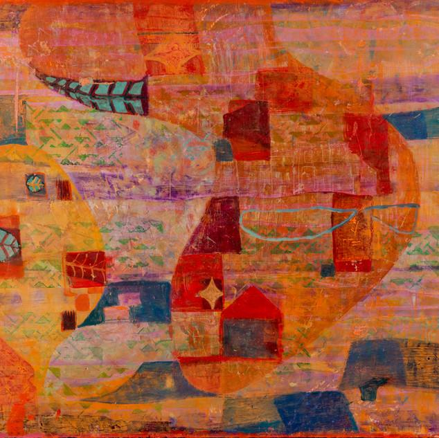 Pattern In Violet