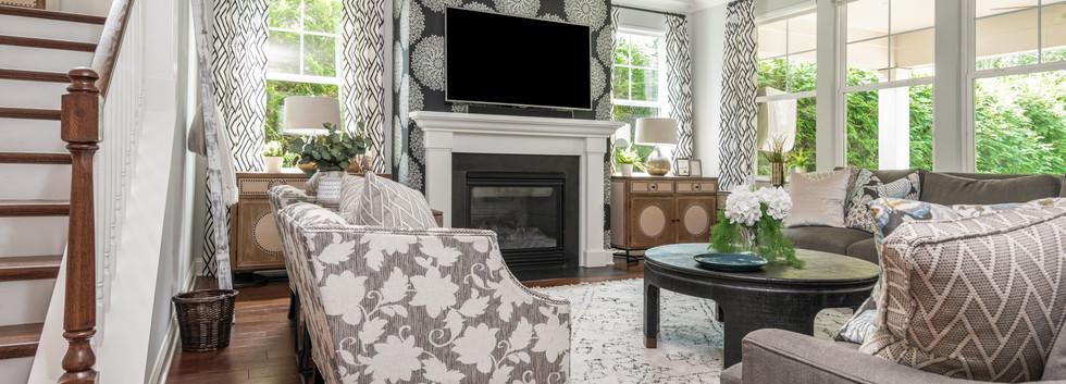 Light & Shadow - Living Room View 3