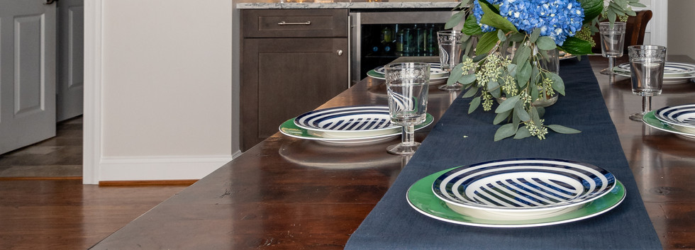 Colorful Kitchen - Dining Room Table Runner View 2
